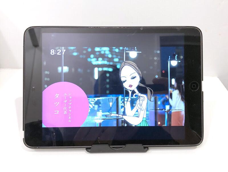iPad テレビ視聴