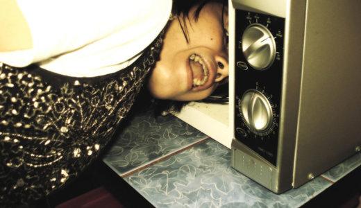 解決!冷蔵庫の上に電子レンジを乗せると共振してビビリ音がしてしまう時の対策。