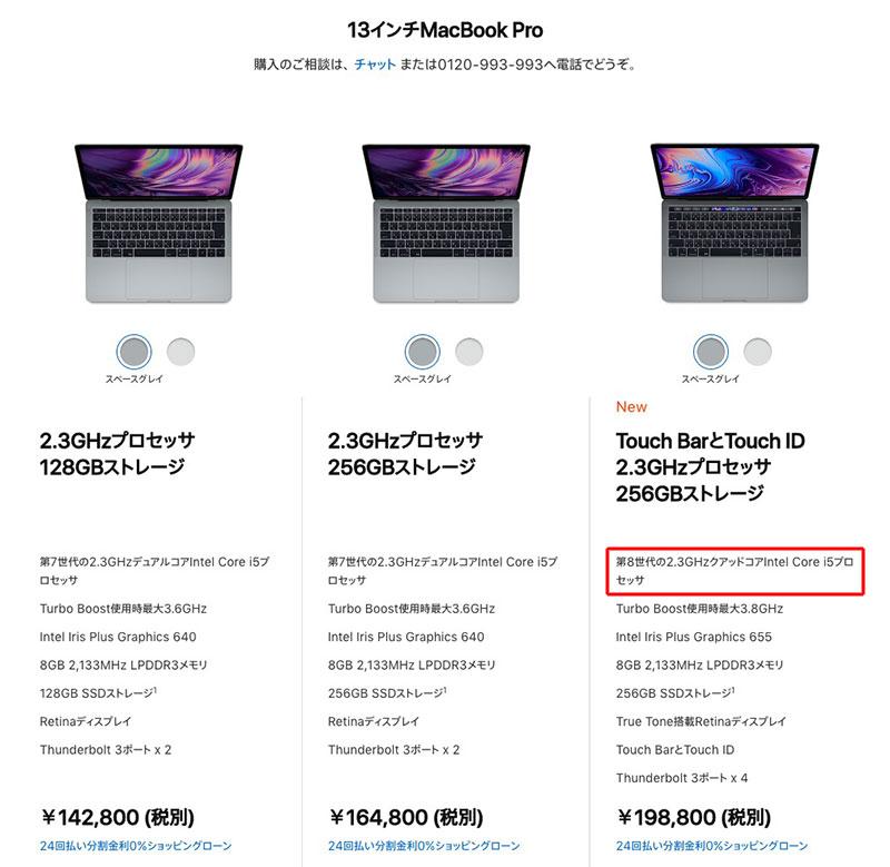 MacBook Pro 2018 Touch Bar