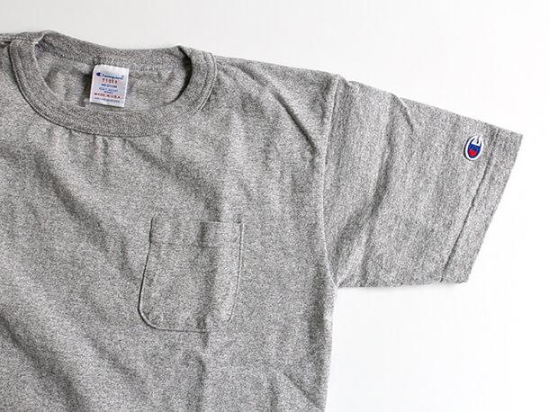 Champion T1011 ポケットTシャツ