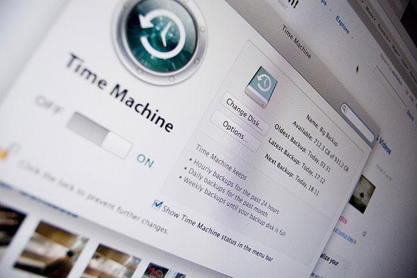 便利!寝てる時間帯にMacのタイムマシンを自動的に起動してバックアップを取る設定方法。
