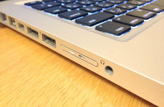 美しい!Nifty MiniDrive ProでMacBook Proに64GBの容量を追加してみた